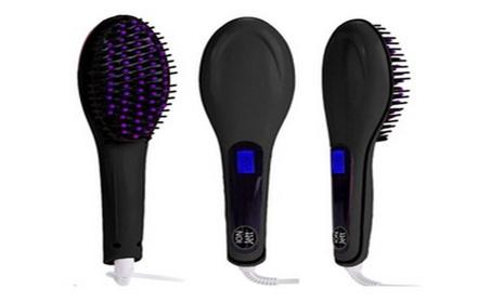 New Ceramic Hair Straightener Brush LCD Professional Flat Iron Blac 2ef227c2-5080-48e4-80ac-47212045a88f