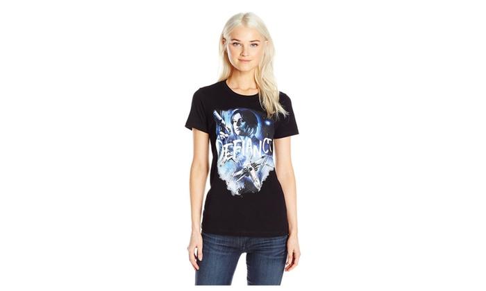 972077e75 Star Wars Women's Jyn T-Shirt | Groupon