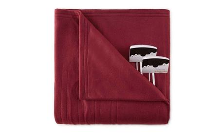 Biddeford 1003-9052106-302 Comfort Knit Fleece Electric Heated Blanket Queen Red 641875b8-a03c-4f42-9e46-81f57cf505f7