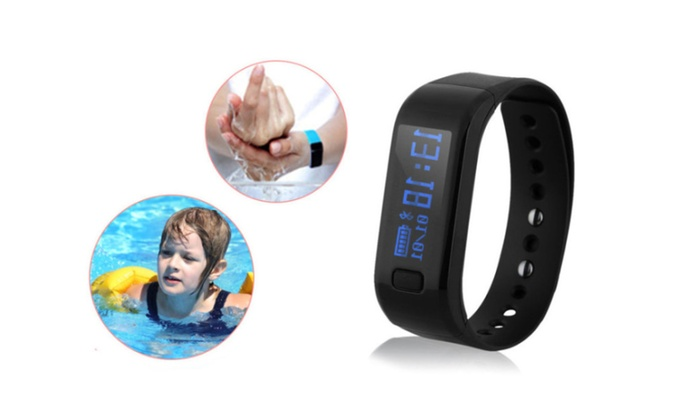Waterproof Smart Wrist Band Fitness Tracker Sports Health Bracelet