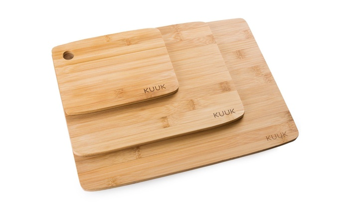 Bamboo 3 Set Piece Cutting Board Totally Kitchen Wood Chopping