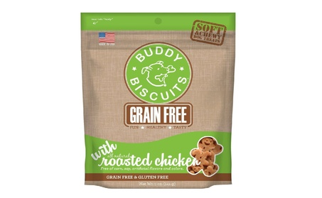 Grain Free Soft Chewy Buddy Biscuits Dog Treats, Rotisserie Chicken 3e31db64-9b3d-4738-b5fd-e5f5cf8ef436