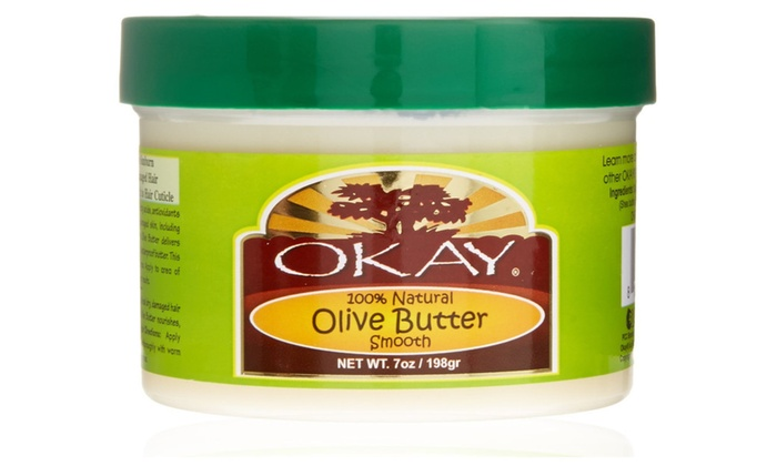 OKAY Olive Butter 1 Natural Smooth | Groupon