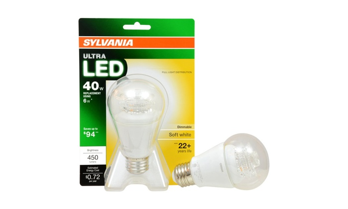 Sylvania Ultra LED 40w Replacement Bulb (10 Pack)
