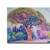 Paul Signac 'The Pine Tree at St.Tropez 1909' Canvas Art