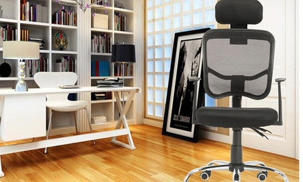 Ergonomic Leisure/Return Mesh Swivel Chairs Computer Office Desk Chair