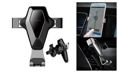 360° Gravity Air Vent Car Mount Metal Holder Cradle For Cell Phone GPS fa472b78-673d-4a9b-85ed-28d8225eb824
