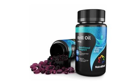 NutraBlast Krill Oil 500mg Essential Fatty Acids Omega 3-6-9