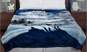 Lavish Home Soft Heavyweight Thick Plush Mink Blanket