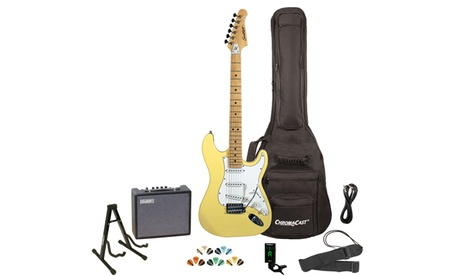 Sawtooth ES Series Electric Guitar with Gig Bag, Amp, & Accessories 7197fc76-663c-4831-bd75-67e68f5de3af