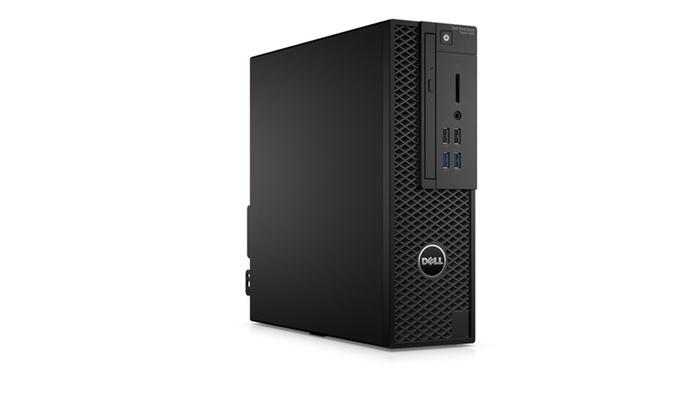 Dell Precision T3420 Intel Xeon E3-1225 v5 4GB, Black (Refurbished)