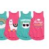 Toddler Trendy Tunic Tanks for Girls