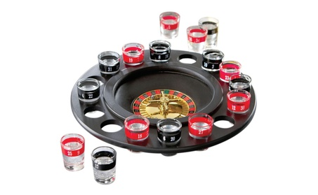 Drinking Game Glass Roulette Drinking Game Set 291fc3e0-6fd3-4021-8017-7d3d6bf0a310