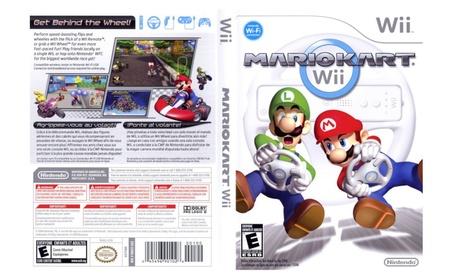 Mario Kart Wii with Wii Wheel 5682f354-a542-4ef1-935f-705f2d6f1095