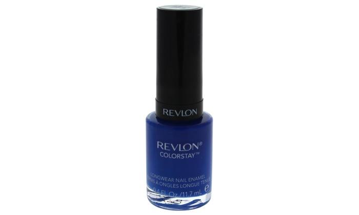 Revlon ColorStay Longwear Nail Enamel - # 180 Indigo Night | Groupon