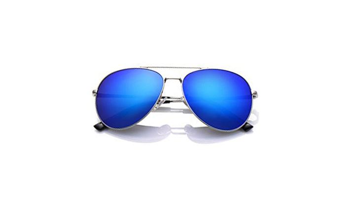 d4786fd6b4 LUENX Aviator Sunglasses For Men Women Polarized with Case - UV 400 ...