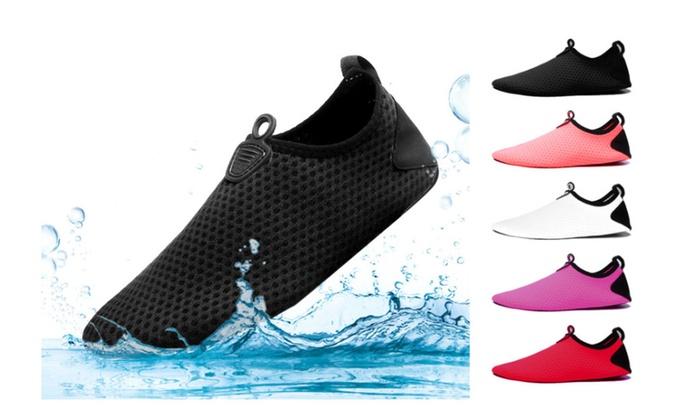 2429f031fd93 Water Shoes for Women Men Quick Dry Aqua Socks Swim Barefoot Beach ...