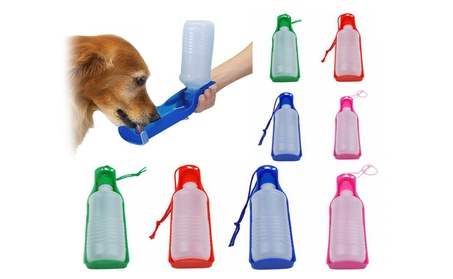 500ml Portable Pets Water Drinking Bottles d04778b9-efb9-4c89-b9d3-3b31a099e01d