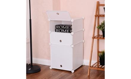 3 Cubic Bookcase Storage Cabinet Shelf Clothes Closet Organizer Home Furni