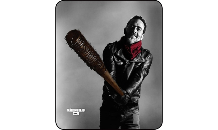 Walking Dead Throw Blankets Adorable Up To 60% Off On The Walking Dead Throw Blanket Groupon Goods