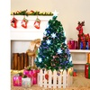 4' Pre-Lit Fiber Optic Artificial Christmas Tree w/Multi-Color Lights