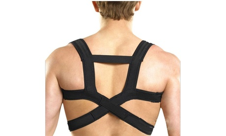 New Adjustable Back Support Belt Posture Shoulder Corrector Back Brace 624ecdef-3a62-464c-a549-d2571e22308e