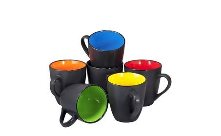 Coffee Mug Set Set of 6 Large-sized 16 Ounce Ceramic Coffee Mugs 2c783f7f-d0d7-48a6-9a3e-163a4cfa2058