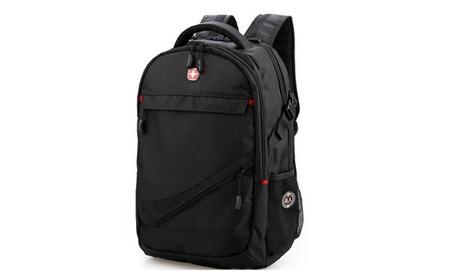 "Travel Backpack School Bag 17"" Computer Laptop Bag Swiss Gear Black 238a2e91-2aba-42d1-977c-32abe7ef752c"