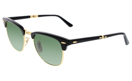Ray-Ban Men's Folding Clubmaster Sunglasses 52125dfb-6c6e-4b59-8e91-b4bae4fae5bd