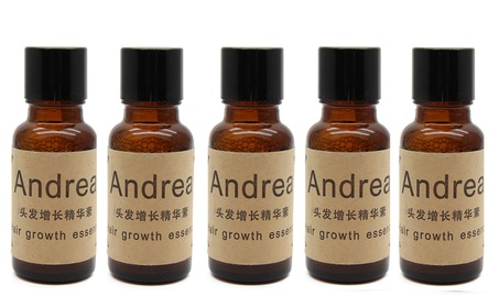 5 x Ginger Oil Thinning Hair Loss Therapy Hair Growth Oil