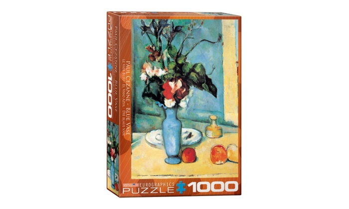 Eurographics Puzzles Blue Vaseby Paul Cezanne Groupon