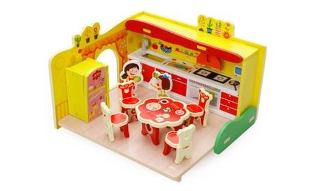 Wooden Toys Everybody Assembles Toy Dream Kitchen 205b36f8-92cf-463e-a1c4-dd3b05ea4706