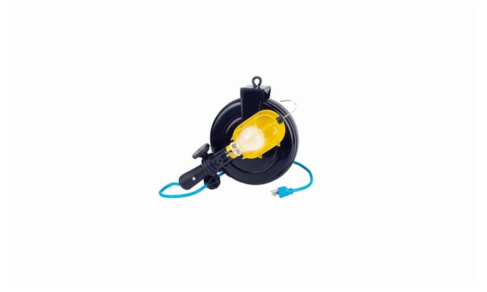 Craftsman Incandescent Work Light with 30 ft Retractable Reel