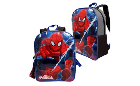 "Marvel Spider-Man Backpack - Asst, 15"" 893c1aec-78c0-4057-9fdc-655c942649d6"