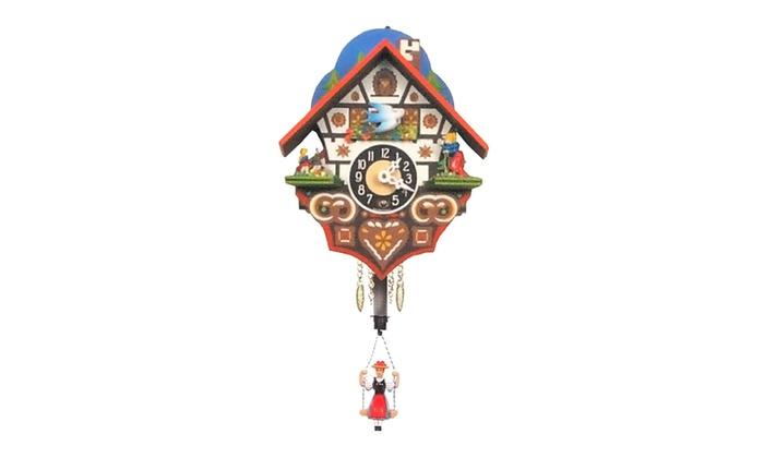 Engstler Key Wound Clock - Mini Size - 6H x 4.75W x 3.25D