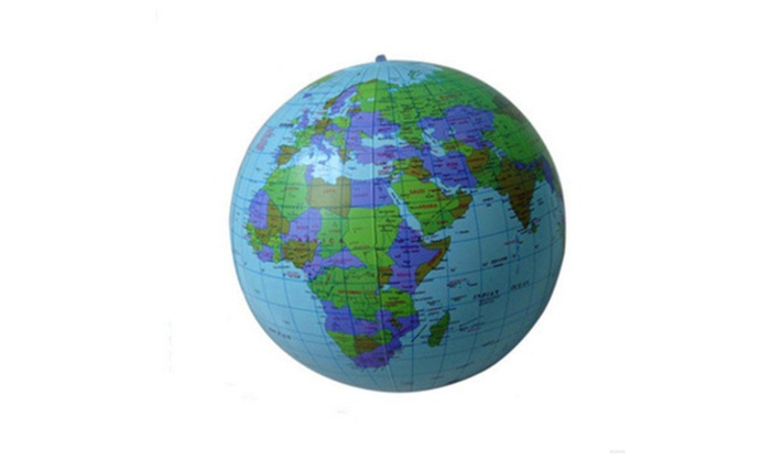 Inflatable world globe teach education geography toy fashion map inflatable world globe teach education geography toy fashion map ball gumiabroncs Images