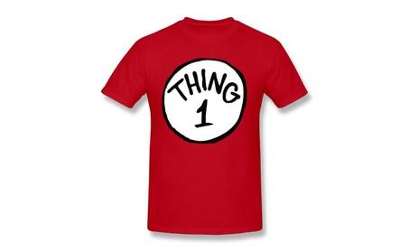 Mens Thing 1 T-Shirt-Red c703aabb-cb4a-45a4-b7e5-82a781e476cd