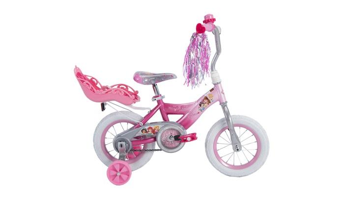 "by Huffy Disney Princess 16/"" Girls/' EZ Build Pink Bike"