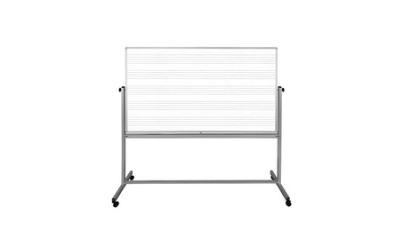 Offex WB7248M 72 x 48 Wall-Mount Music Whiteboard 3922dff0-4ed9-4241-98ce-8ae4b4420362