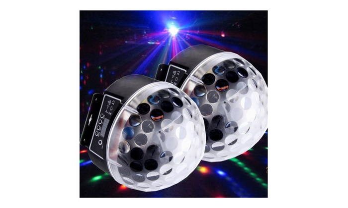 RGB Crystal Magic Ball Effect Light Disco Stage Lighting