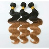 Brazilian Ombre Body Wave Human Hair Extensions (3 Bundles)