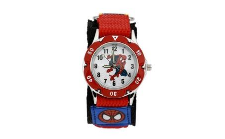 Kid's Cartoon Spiderman Quartz Sport Watch df10d204-eab4-4c59-816e-8c7bf5bfea43