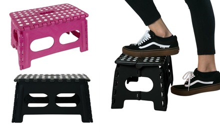 Folding Extra Wide Step Stool - Color Options