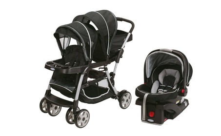 Graco Ready2Grow LX Duo Double Baby Stroller + Car Seat Travel System 1530728b-8afc-4a7f-b535-9fdfbd5a3bcc