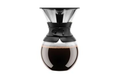 Coffee Maker, Pour Over Coffee Maker with Permanent Filter, Black 8935cc0d-ea25-4107-bb04-1cf3e813d27d