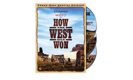 How the West was Won: Special Edition (3-Disc) (DVD) f576503d-64be-46fb-b6a9-cb6bf36d8b45