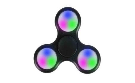 LED Fidget Spinner Tri Light Spinning Hand f0da0166-248d-4b1b-8a06-6a266961b2aa