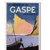 'Gaspe Peninsula Quebec 1939' Canvas Art
