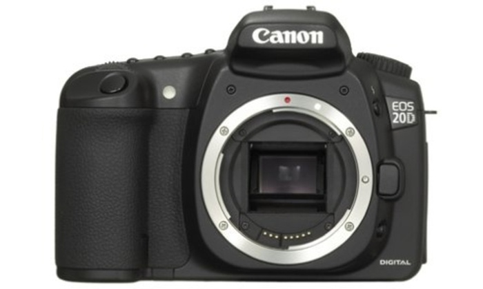 canon eos 20d digital slr camera body only refurbished groupon rh groupon com canon eos 20d operating manual canon eos 20d operating manual