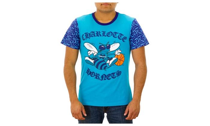 Charlotte Hornets Blue T-shirt NEW